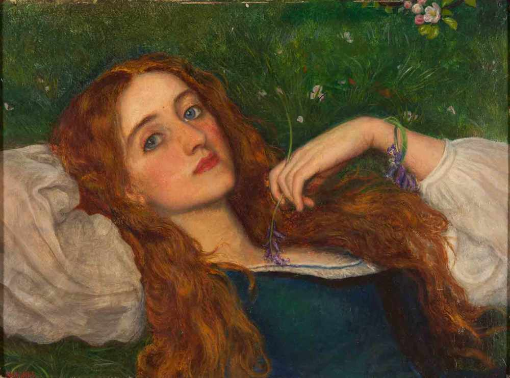 Arthur_Hughes_-_In_the_Grass-1
